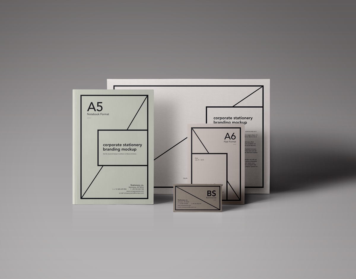 Balanced And Elegant Corporate Branding